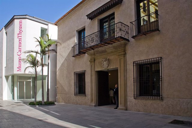 Fachada del Museo Carmen Thyssen Málaga