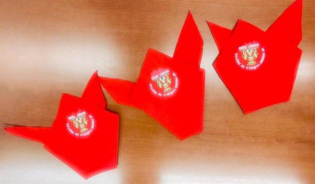 Primer pañuelo de fiestas de Haro