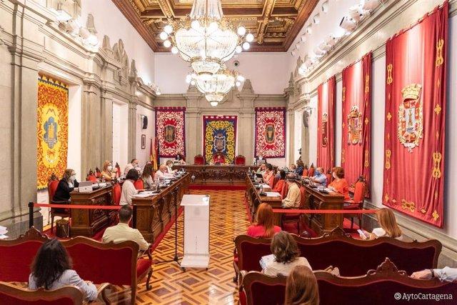 Pleno ordinario del Ayuntamiento de Cartagena del 25 de junio