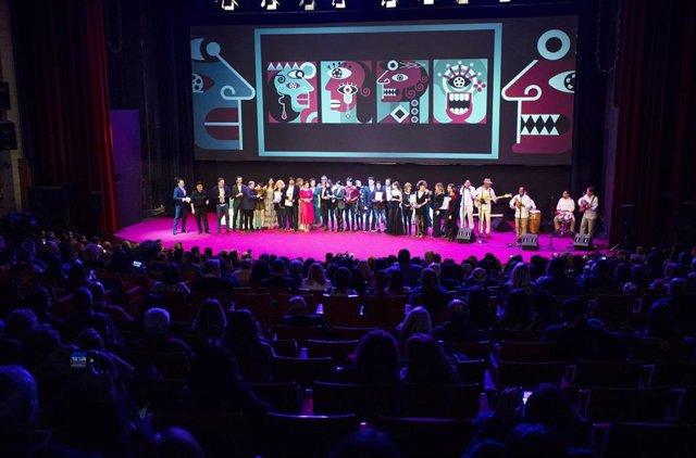 Gala de clausura del Festival de Cine Iberoamericano de Huelva.