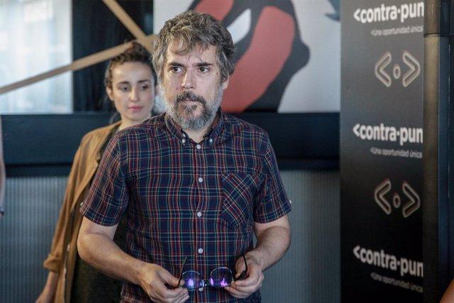 Los cantantes españoles, Zahara e Iván Ferreiro a su llegada a la presentación en rueda de prensa de su nuevo proyecto musical llamado `Contrapunto, en Madrid, a 2 de octubre de 2019.