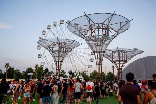Imagen de recurso del festival Mad Cool de Madrid en su edición de 2019.