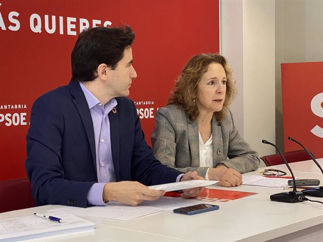 Isabel Fernández y Pedro Casares