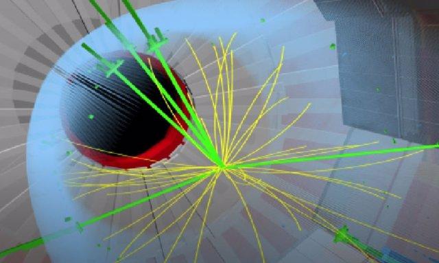 Experimento CMS en el acelerador de partículas LHC