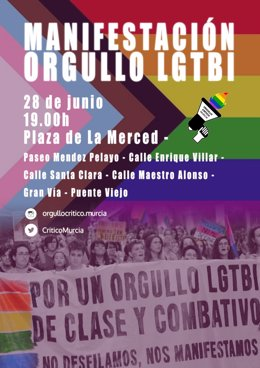 Cartel de la manifestación