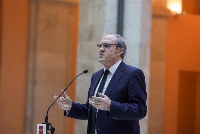 El portavoz del grupo parlamentario del PSOE, Ángel Gabilondo