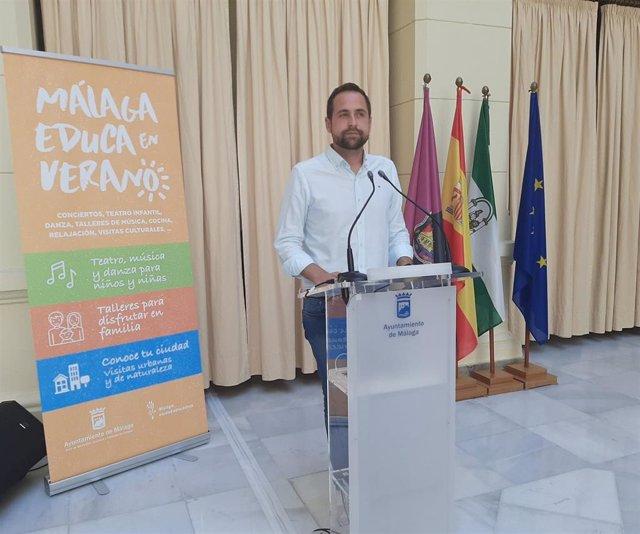 Luis Verde presenta el programa 'Málafa educa en verano'