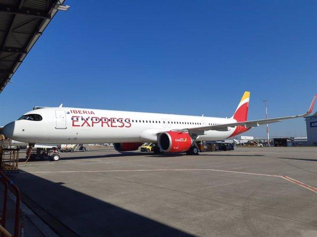 Iberia Express da la bienvenida al primer A321neo de su flota