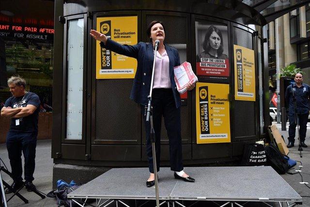 La líder laborista australiana Jodi Mckay