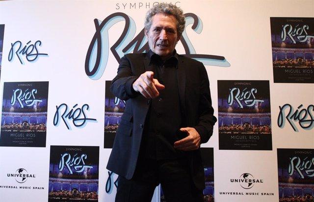 El cantante Miguel Ríos presenta Symphonic Ríos