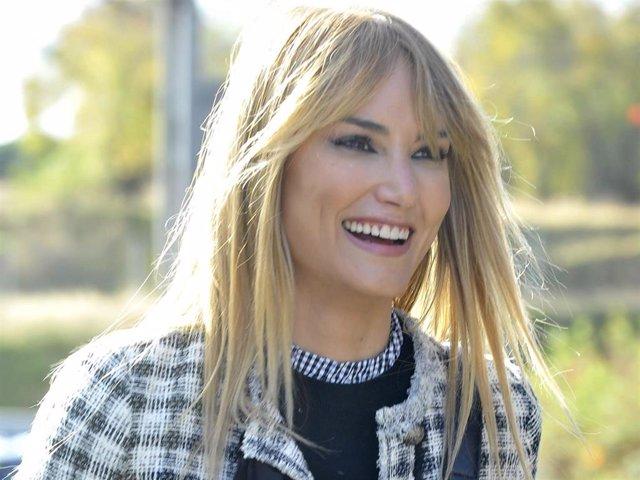 Alba Carrillo, de lo más sonriente