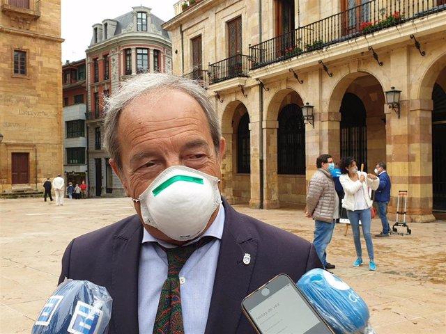 El concejal del PSOE y exalcalde de Oviedo, Wenceslao López