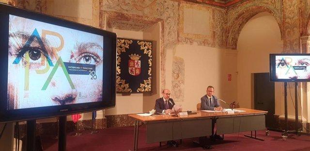 Presentación de la bienal AR&PA Territorio, con un formato adaptado para los próximos seis meses y un presupuesto de 800.000 euros.
