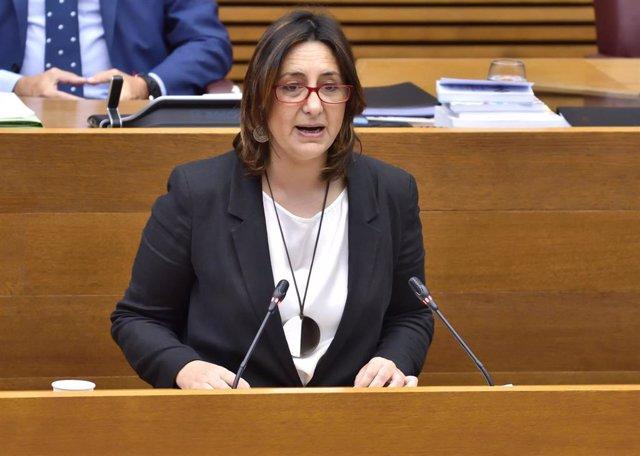 La consellera Rosa Pérez Garijo