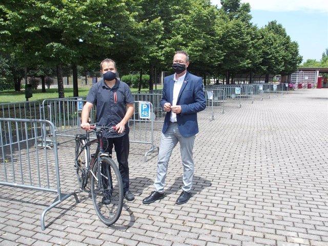 Logroño contará con un carril bici que unirá el barrio de El Campillo y Las Norias con El Cubo por el Puente Sagasta