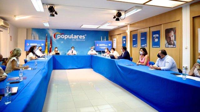 Comité de Direcciónd el PP en Albacete