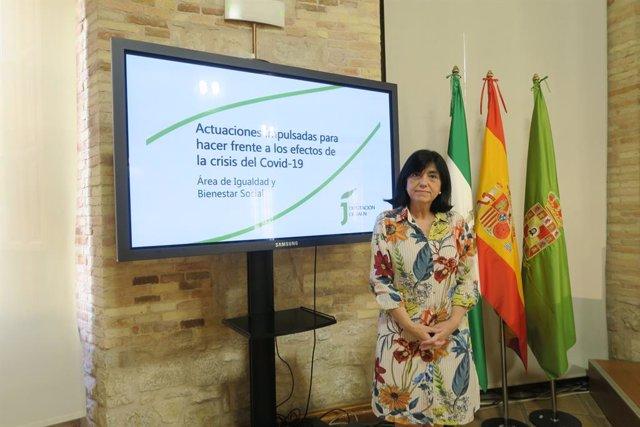 La diputada de Igualdad y Bienestar Social, Francisca Medina