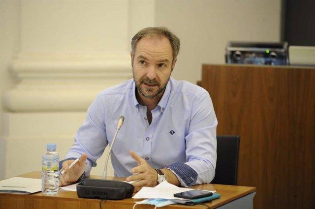 El director general de Innovación e Inclusión Educativa, Juan Pablo Venero
