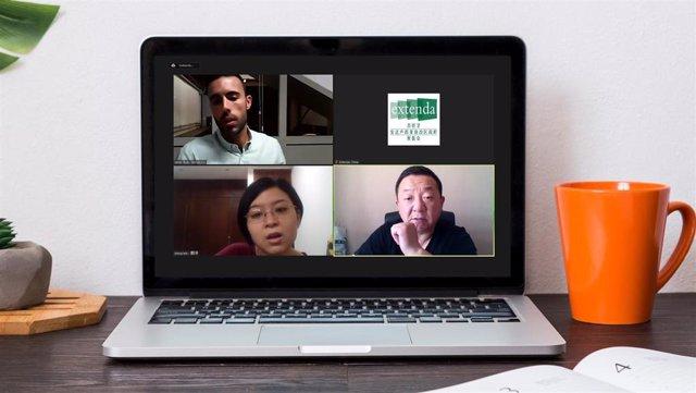 Foto Y Nota De Prensa: Un Total De Trece Empresas Agroalimentarias Andaluzas Mantienen Más De Una Treintena De Reuniones De Negocio Con Diez De Agentes De China