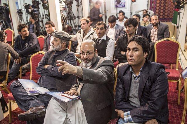 Afganistán.- Los periodistas afganos logran paralizar un proyecto de ley que les