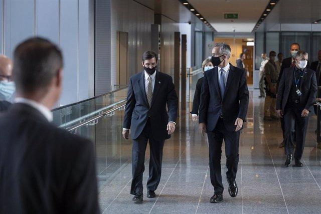 EEUU.- La OTAN asegura que EEUU está coordinando sus planes en Europa con la Ali