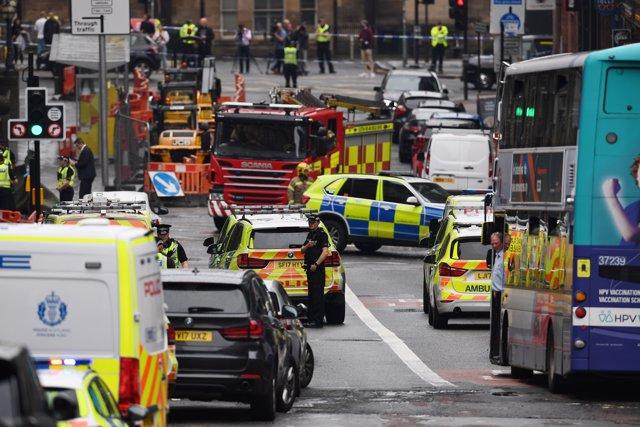 Al menos tres muertos por un apuñalamiento en un hotel del centro de Glasgow