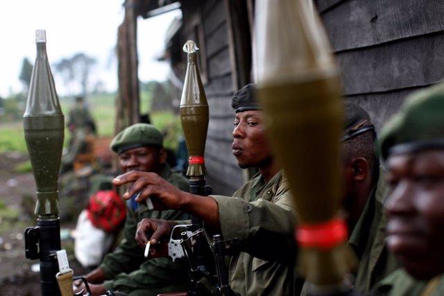 RDCongo.- El Ejército de RDC anuncia la muerte de diez supuestos milicianos de C