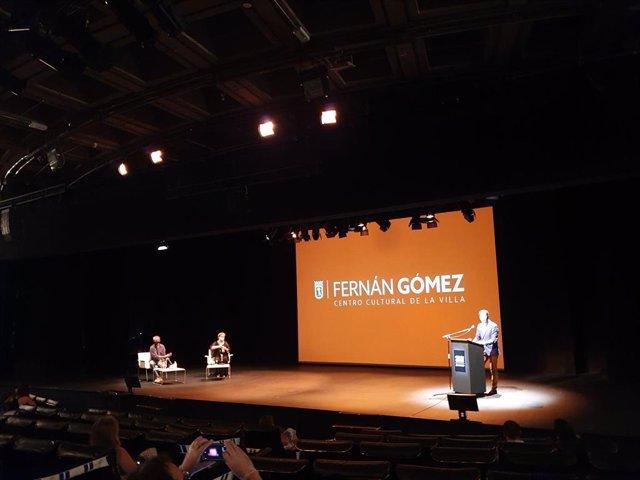El teatro Fernán Gómez. Centro Cultural de la Villa de Madrid presenta su nueva programación