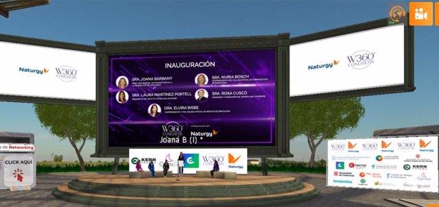 Inauguración Institucional del Women 360º Congress