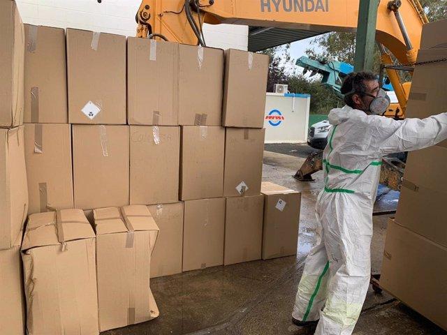 La planta sevillana de GSA procesa en tres meses más de 150 toneladas de residuos biosanitarios del Covid