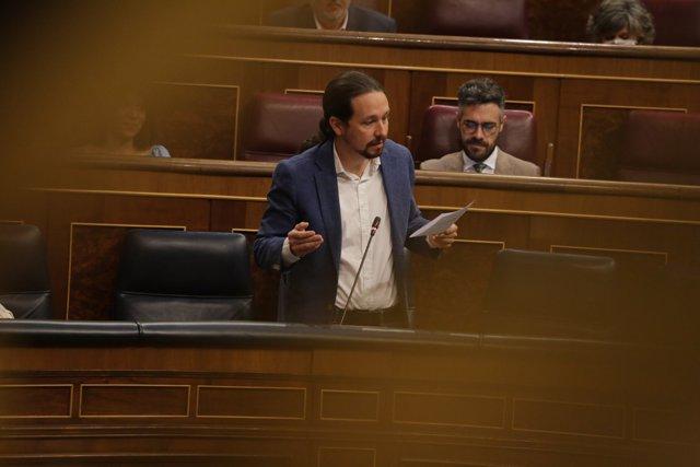 El vicepresidente del Gobierno, Pablo Iglesias