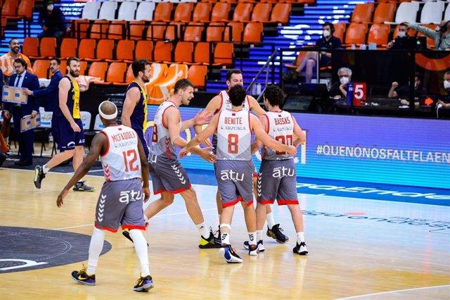 El San Pablo Burgos celebra la victoria