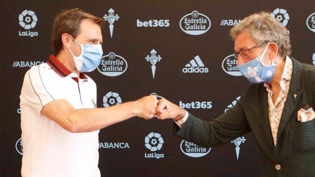 Fútbol.- Felipe Miñambres renueva como director deportivo del Celta hasta 2021
