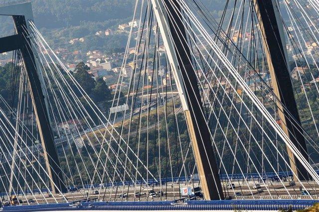 Puente de Rande, en Vigo.