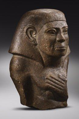 Exposición en el Museu Egipci