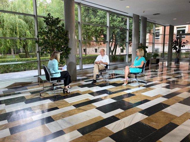 CyLTV emite este domingo una entrevista a Igea y Casado sobre la crisis del coronavirus.