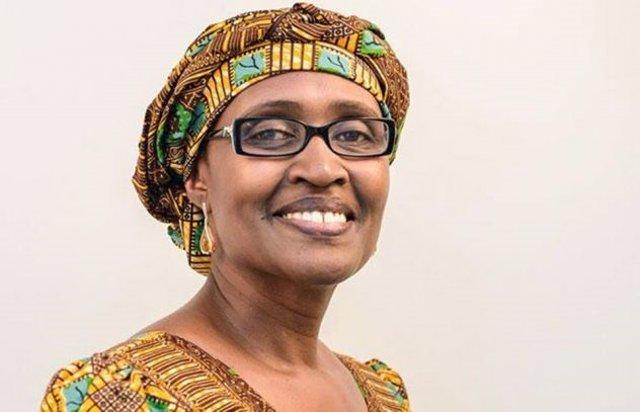 La nueva directora ejecutiva de ONUSIDA, Winnie Byanyima.