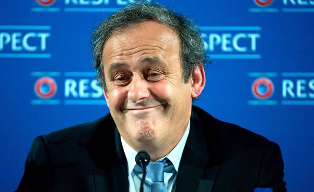 El expresidente de la UEFA Michel Platini