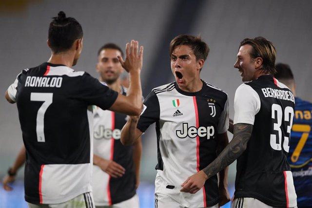Paulo Dybala y Cristiano, Juventus