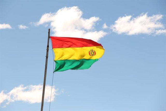 Imagen de archivo de una bandera de Bolivia.