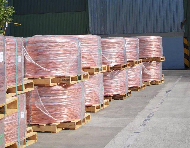 El cobre suma el 25% de las exportaciones cordobesas en el primer cuatrimestre del año.