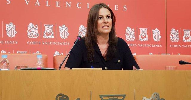 La portavoz de Educación del Grupo Popular en Les Corts, Beatriz Gascó