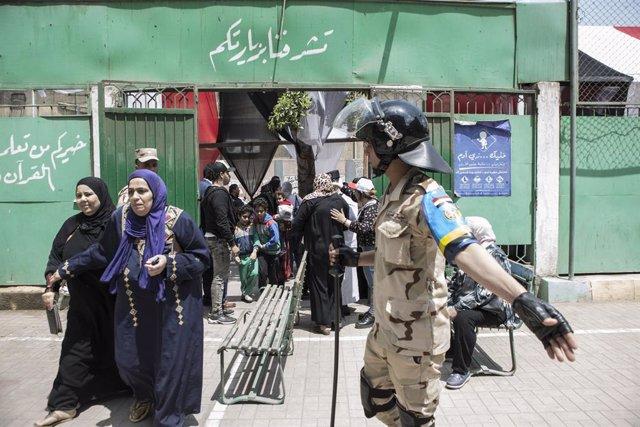 Egipto.- Egipto ejecuta a un miliciano libio condenado por un atentado terrorist