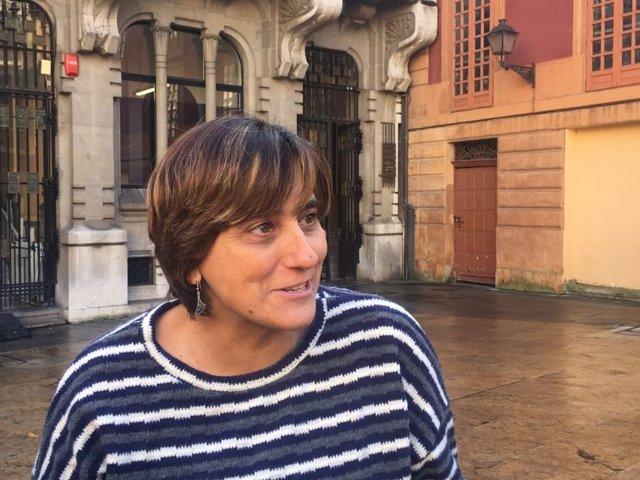 La concejala socialista en Oviedo, Ana Rivas