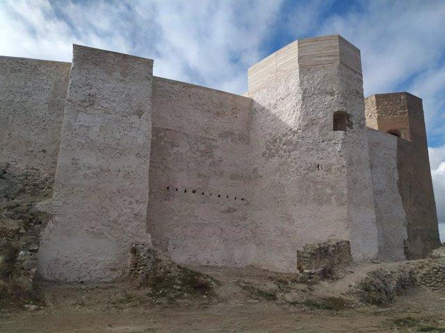 Obras de rehabilitación del Castillo Mayor