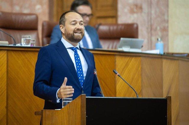 El parlamentario andaluz del Partido Popular de Almería Ramón Herrera en una foto de archivo