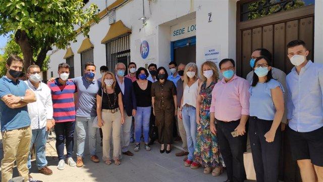 Acto de cierre de curso político de Nuevas Generaciones de Sevilla en Alcalá de Guadaíra
