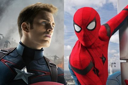 Así luce Chris Evans como Spider-Man en el Universo Marvel