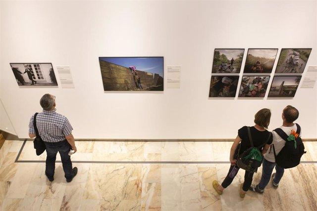 Imagen de archivo de una exposición de la Fundación Cajaso.