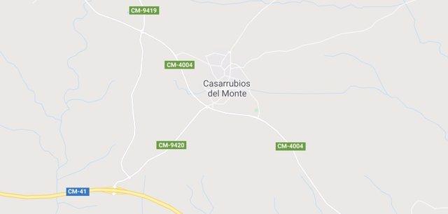 Imagen de Casarrubios del Monte en Google Maps